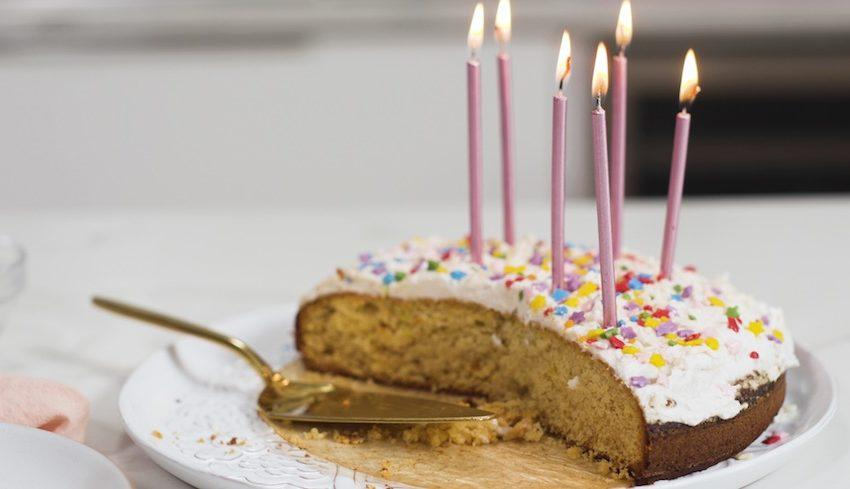 This delicious, low-sugar birthday cake is definitely worth celebrating