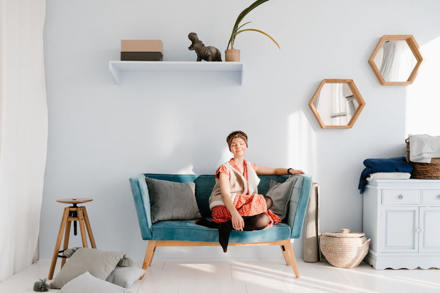 Thumbnail for Your windowless room isn't doomed to feel like a dungeon—brighten things up with these 5 tips from an interior designer
