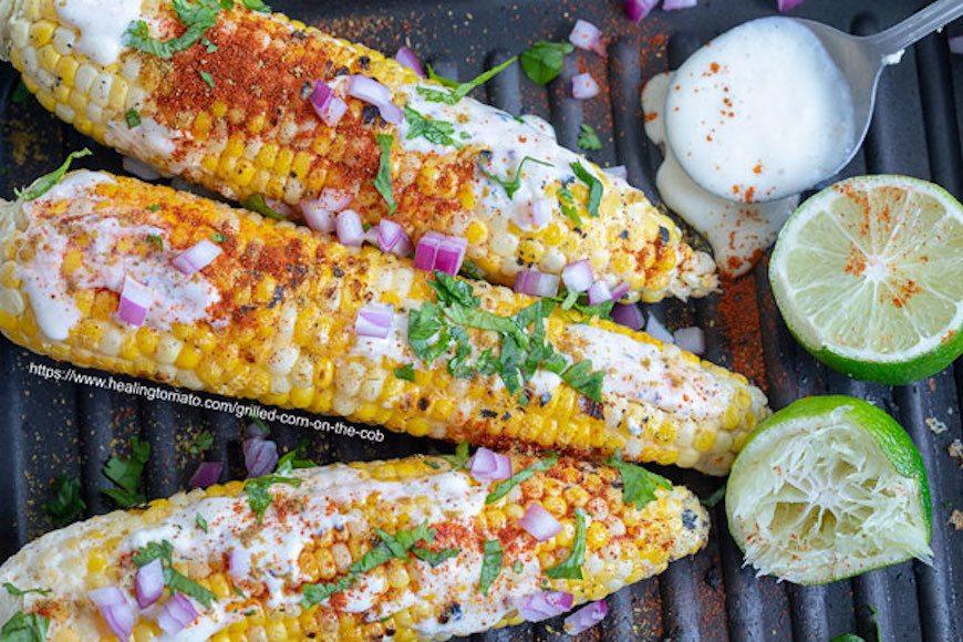 vegan grilled corn