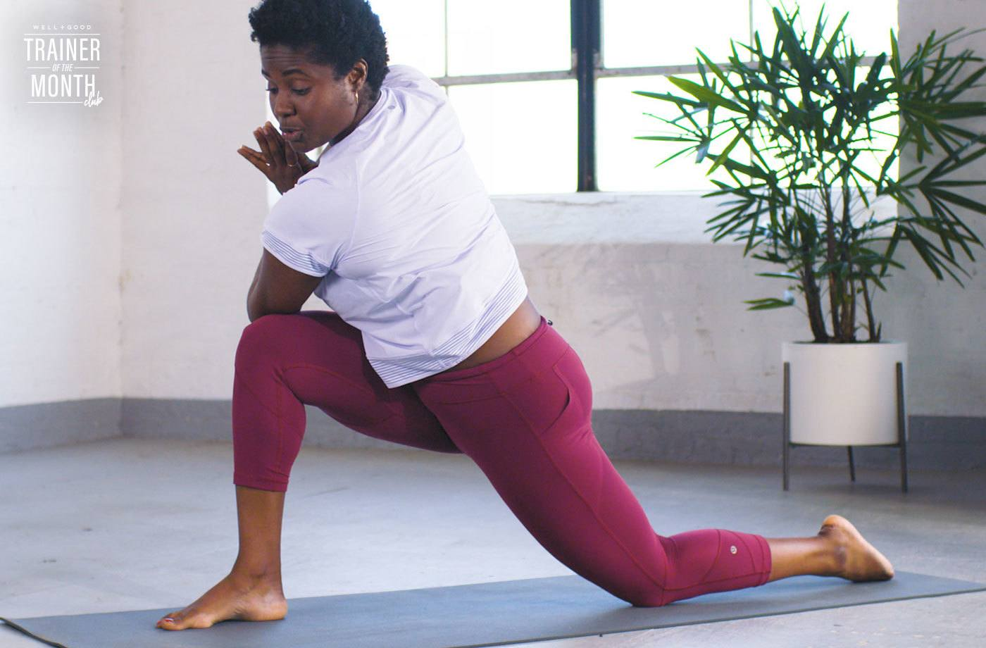 This 7-minute heart-opening yoga flow will relieve tension from hunching over a computer all day