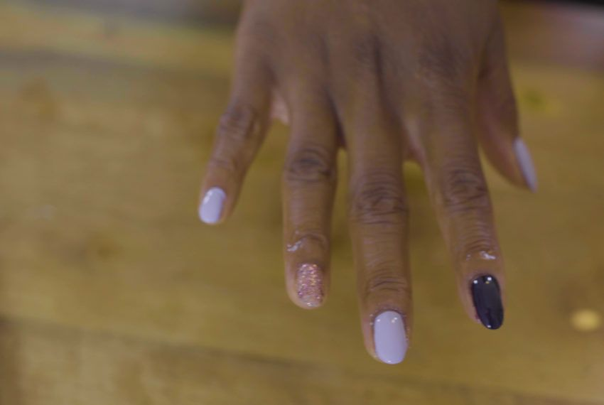 One woman found a surprising mental health benefit in a simple at-home manicure