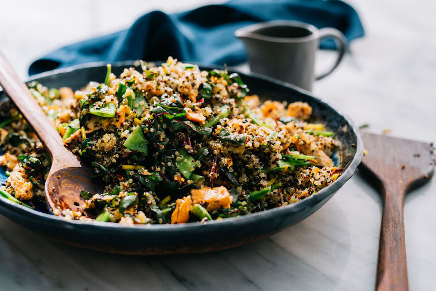 Thumbnail for The healthy reasons why quinoa continues to reign supreme in grain bowls everywhere