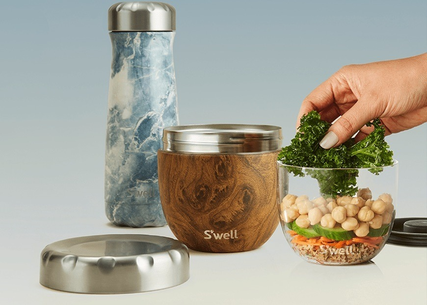 Thumbnail for S'well Made Water Bottles Cool—and Now They're Coming for Your Meal Prep Routine