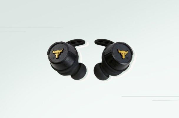 The Waterproof Headphones That Won't Slip During My Sweatiest Workouts