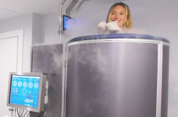 Can a -210 degree cryotherapy sesh really help muscle soreness? I tried it to find out