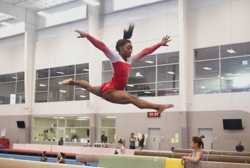 The top 3 things Simone Biles does every day to prioritize her health and wellness