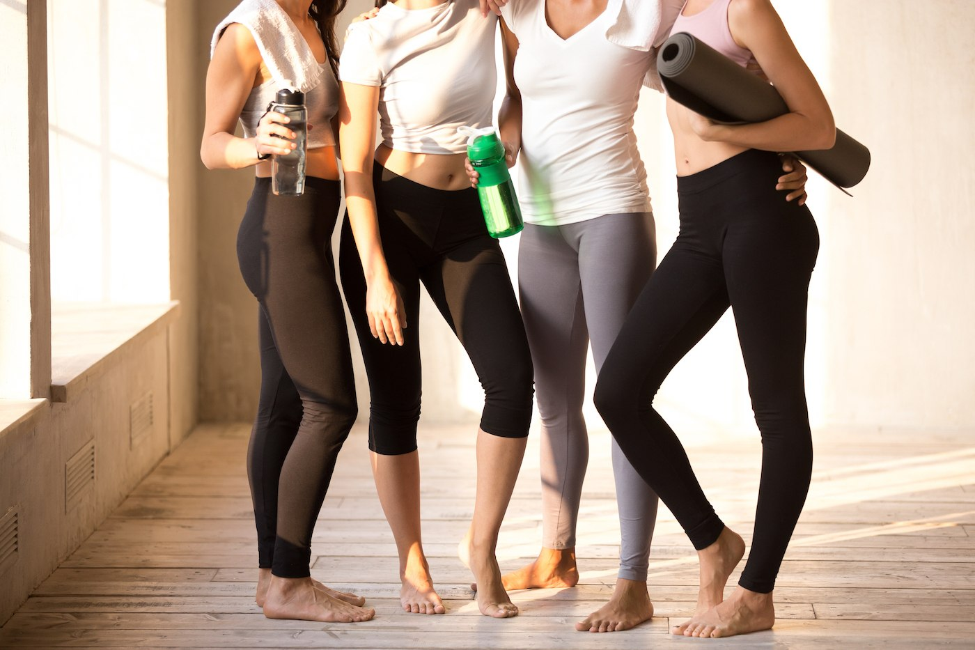 Thumbnail for 7 Under-$50 Leggings That Stand up to Even Your Sweatiest, Most High-Intensity Workouts