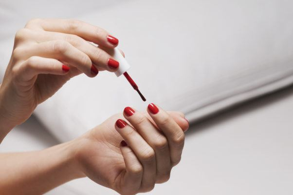 If you ask a manicurist one thing before getting your nails done, make it this