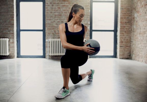 Master your lunge form in order to drop it like it's hot and feel your glutes burn