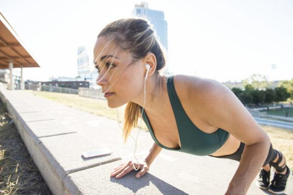 Wall push-ups can make you so much stronger—here's how