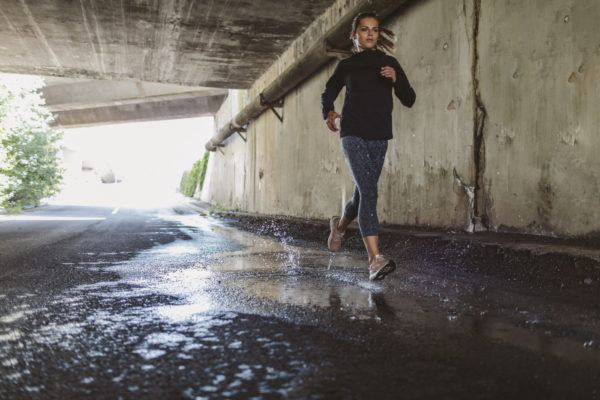 Running in the rain is an inevitable part of training—here's how to keep it comfy