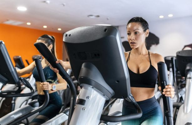 I streamed a hardcore elliptical workout—here's why you should, too