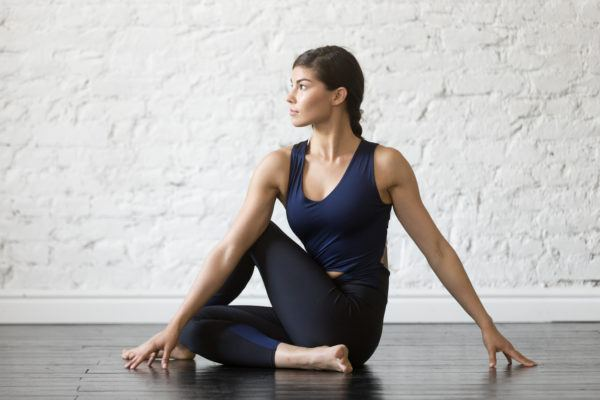 5 yoga poses that banish bloat faster than you can say 'namaste'