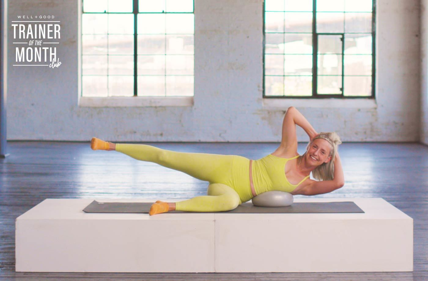 A 9-minute Pilates for abs and glutes workout | Well+Good