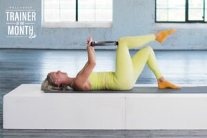 This Pilates ring workout targets your obliques and booty