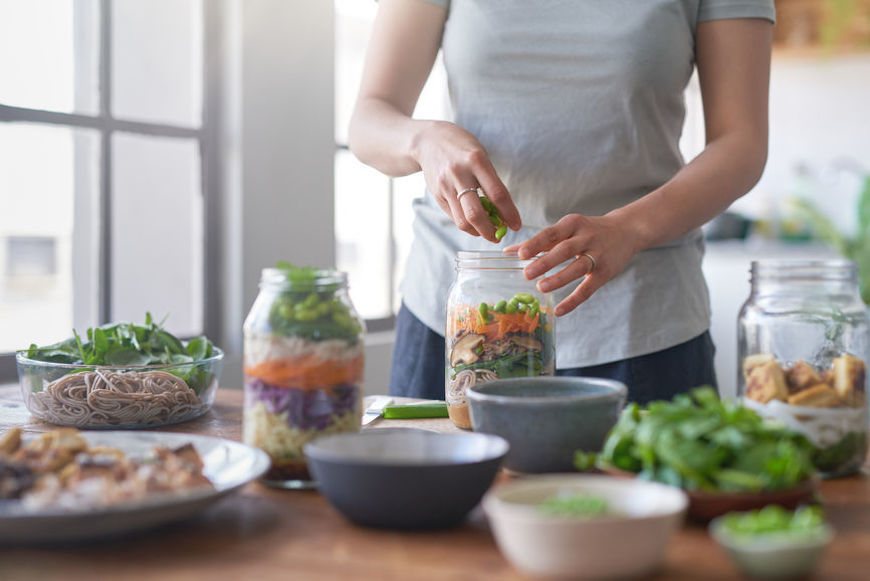 Thumbnail for Your 5-Step Guide to Keeping Your Meal-Prepped Salad Fresh, According to a Dietitian