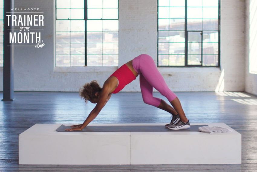 This 5-Minute Lower-Body Stretch Sesh Is the Best Way to Cool Down