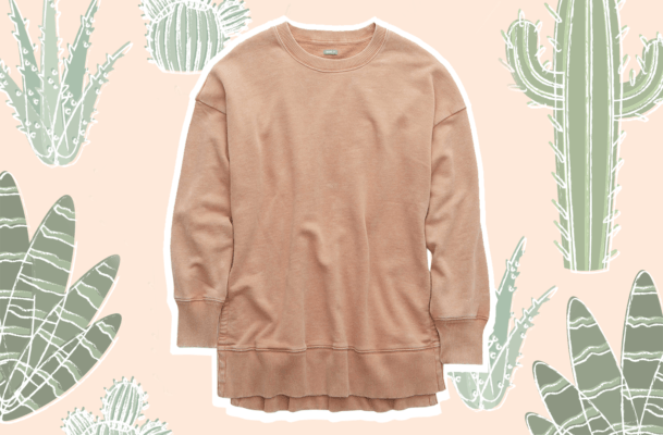 This $30 'desert sweatshirt' is the only companion your leggings need now and forever
