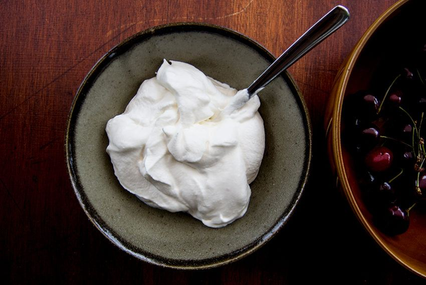 It's just a fact: Whipped coconut cream is *way* better than the...