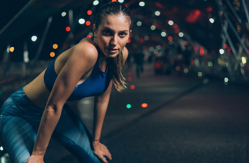 Thumbnail for The Activewear That's Just As Flashy at Night As It Is in the Light