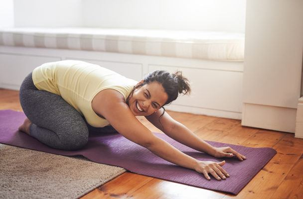 'Perfect yoga' is overrated—here's why to focus on a relaxed, feel-good flow instead