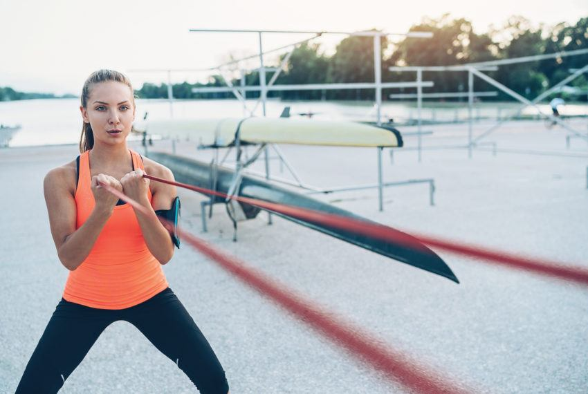 7 resistance band shoulder exercises that will correct your posture in no...