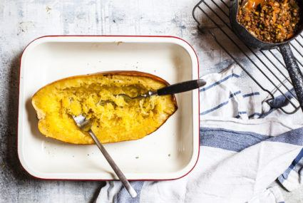 Spaghetti squash is the high-fiber, nutrient-rich pasta alternative we deserve