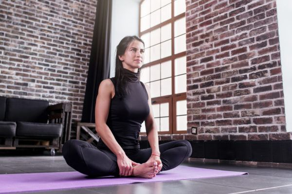 Try this easygoing (and effective!) way to relieve aching hip flexors and inner thighs