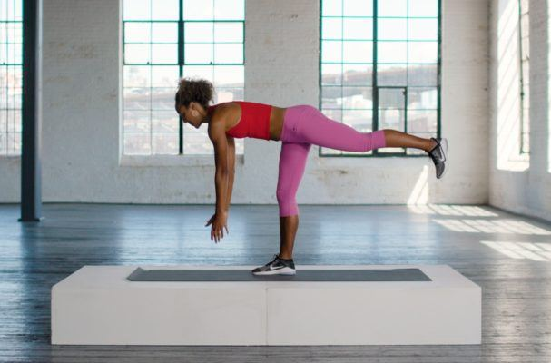 This glutes workout—literally—kicked our butts in 10-minutes flat
