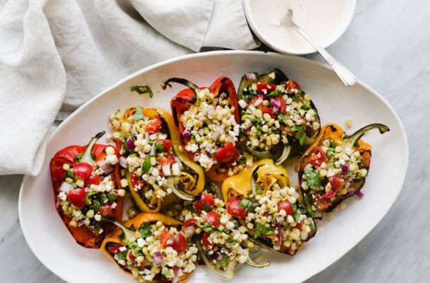 Shop once, eat five times with this delicious, plant-based dinner menu