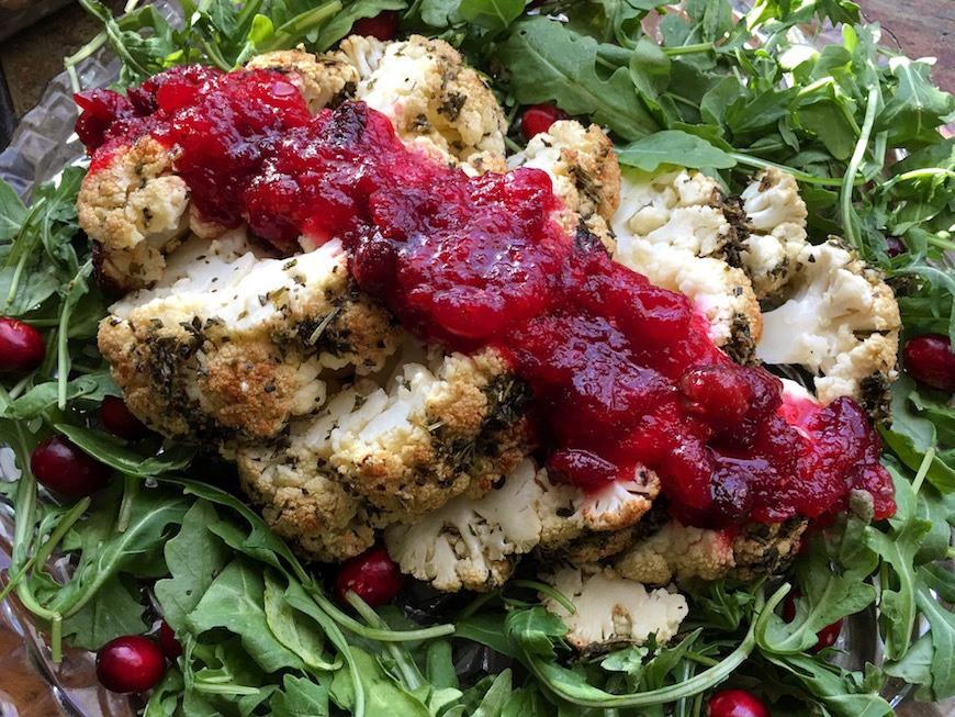 cauliflower thanksgiving recipe