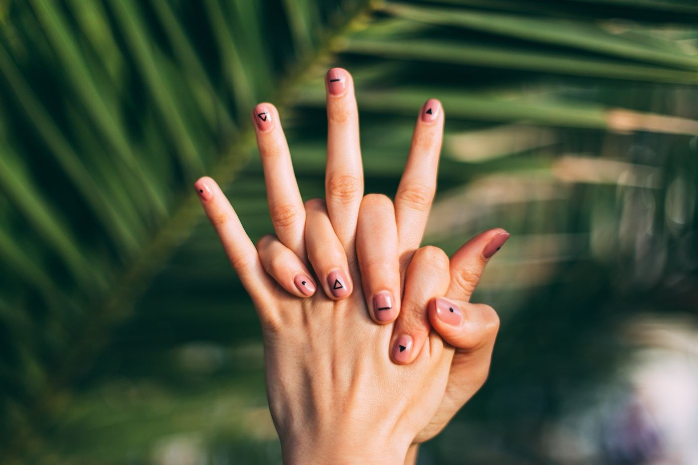 Thumbnail for 5 minimalist nail art designs you can do yourself in 15 seconds