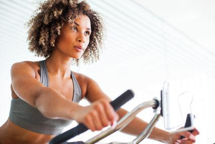 This at-home spin bike is one of Oprah's Favorite Things