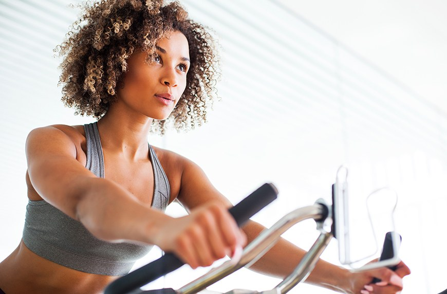 Thumbnail for This at-home spin bike is one of Oprah's Favorite Things