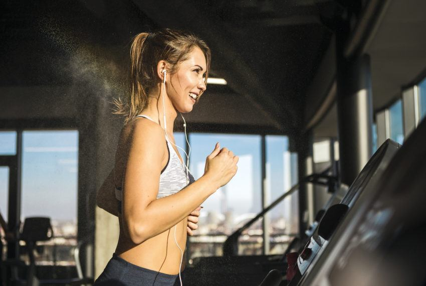 Do this 3-move strength series between cardio intervals for a...