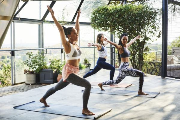 """""""Cardio Yoga"""" Will Hands Down Give You the Best Full-Body Sweat You Can Ask For"""
