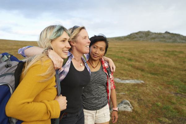 Book that girls' trip now, because traveling with friends promotes health and happiness