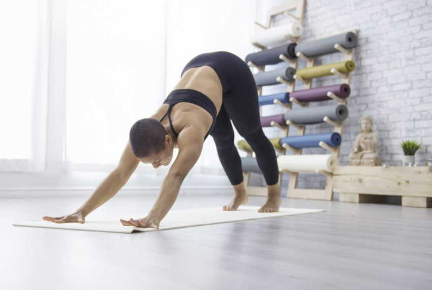 Crisscross Your Downward Dog for a Hip Stretch That 'Feels Like Heaven'