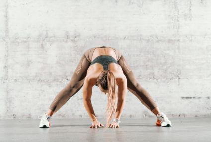 Straddle flexibility is the spine-elongating, hip flexor-opening strength you need