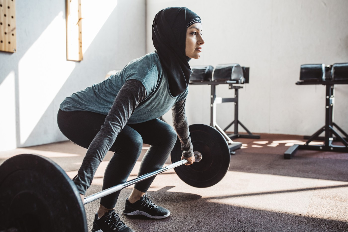 Thumbnail for How to hold a squat for twice as long, according to a personal trainer