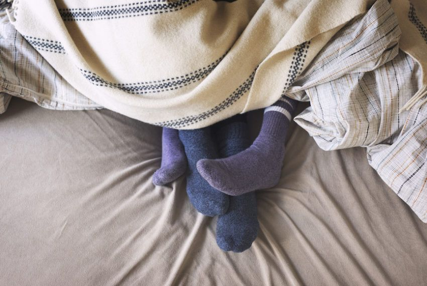 Why Wearing Socks in Bed Could Lead to More Orgasms