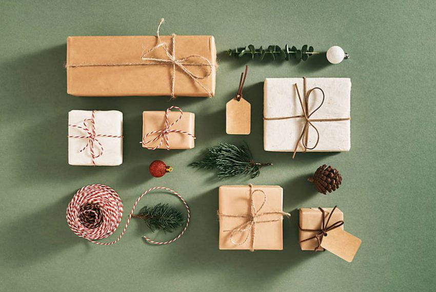 7 easy ways to upcycle your brown paper grocery bags into wrapping paper