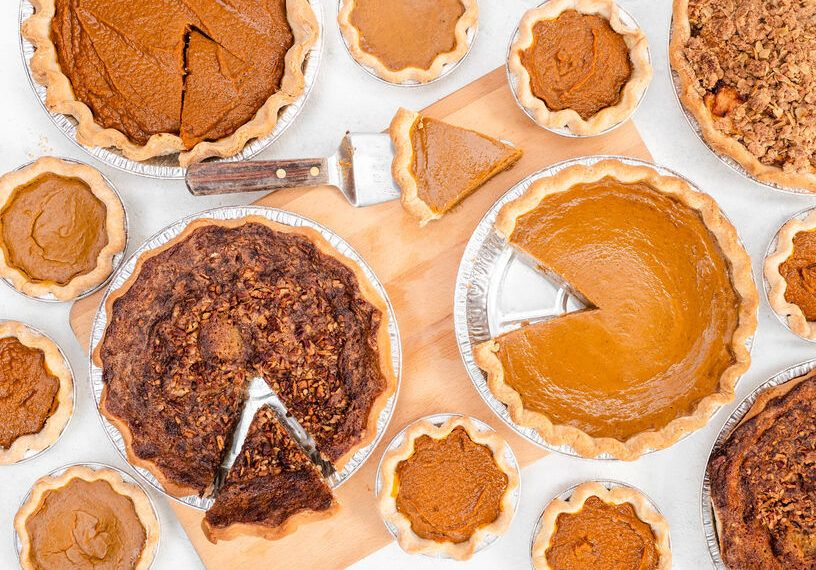 Healthy versions of the most popular pies for Thanksgiving, according to...