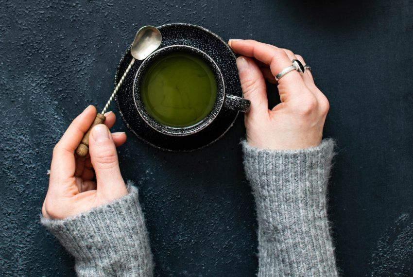 True or False: It's a Good Idea to Drink Green Tea Right Before Bed
