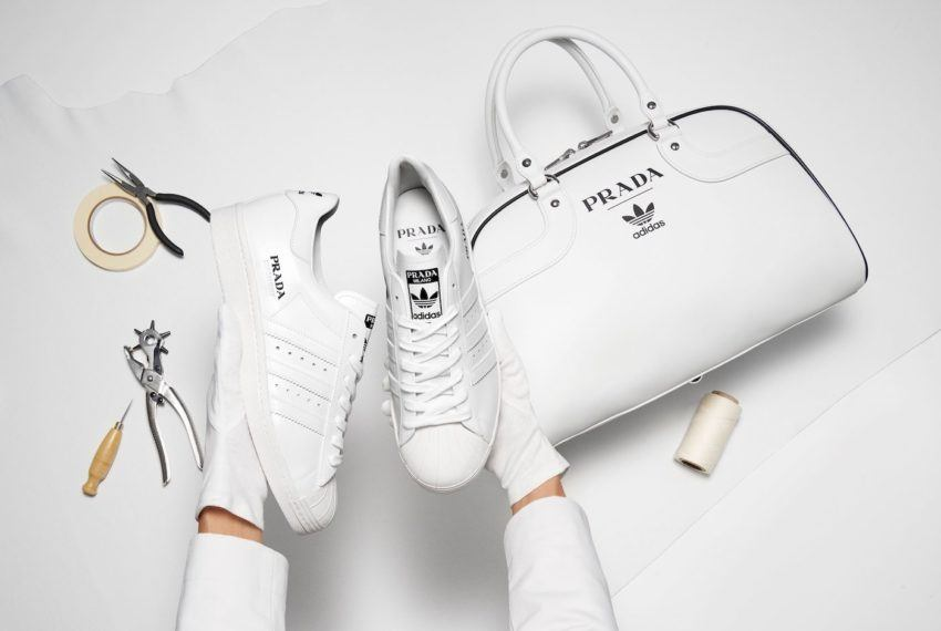 Adidas and Prada have teamed up to create the chicest dang sneakers we've ever seen
