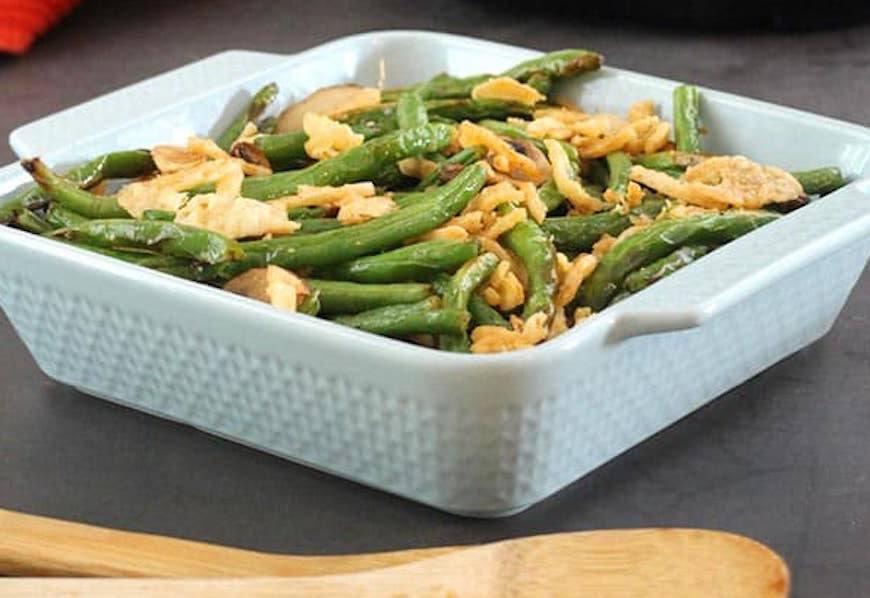 air fryer green bean casserole