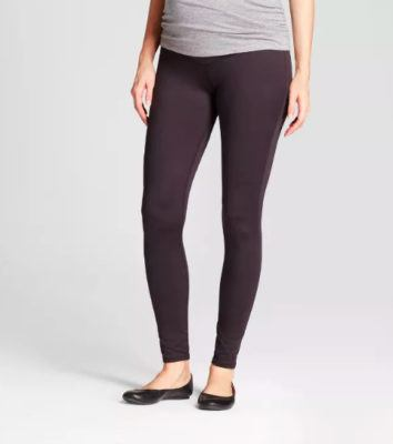 ingrid and isabel maternity leggings for third trimester