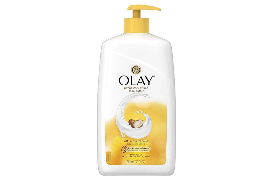 body wash for dry skin olay
