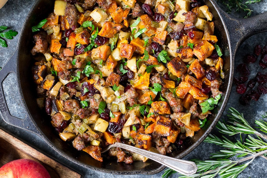 Thumbnail for Enjoy This Cornucopia of Gluten-Free Stuffing Recipes for Your Thanksgiving Spread
