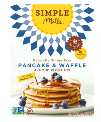 simple mills pancake mix for easy third trimester breakfast